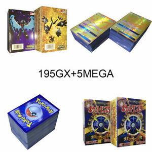 200Pcs-195-GX-5-MEGA-Pokemon-Cards-Booster-Box-English-Edition-Break-Point-Hot