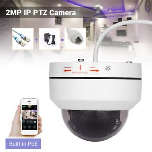 HD-1080P-POE-IP-PTZ-Camera-4X-Zoom-Onvif-Security-Night-Vision-Waterproof-Mini