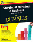 Starting and Running a Business All-in-One For Dummies by John Wiley & Sons Inc (Paperback, 2011)