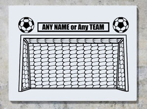 Football Goal Soccer Net  Custom Team or Name Decal Wall Art Sticker Picture - Southend-on-Sea, United Kingdom - Football Goal Soccer Net  Custom Team or Name Decal Wall Art Sticker Picture - Southend-on-Sea, United Kingdom