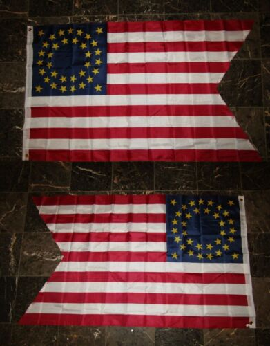 3x5 Union Cavalry Guidon 2 Faced 2-ply Wind Resistant Flag 3x5ft
