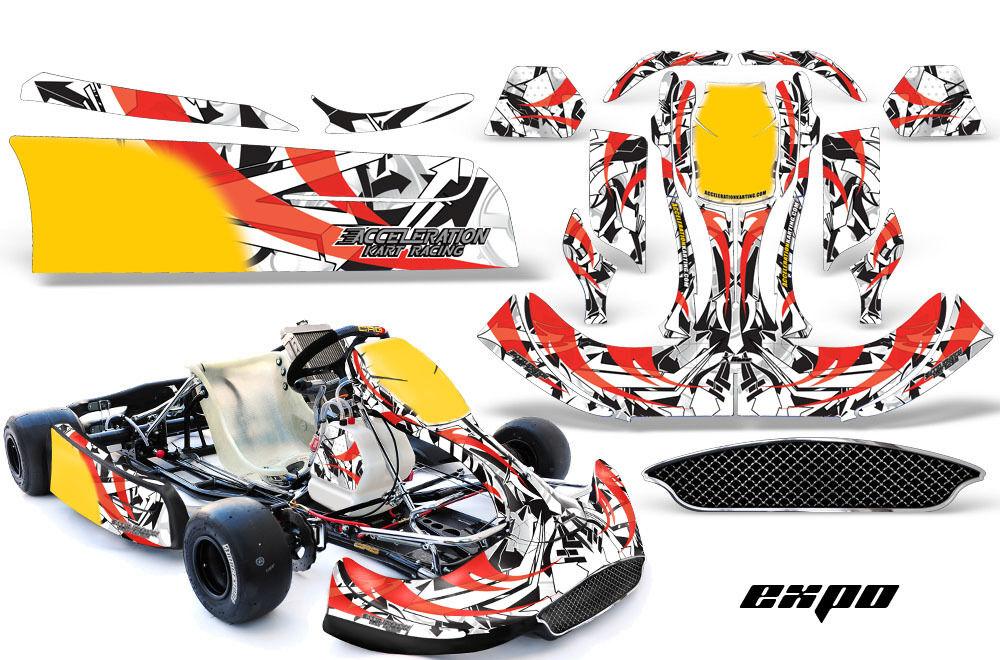 Go Kart Grafik Kit Sticker für Crg New Age NA2 NA2 NA2 Expo Rot 368d83