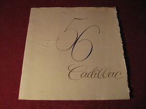 1956-Cadillac-Large-Prestige-Sales-Brochure-Old-Original-Booklet-Book-Catalog