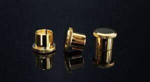 Computer & Office 12 Pcs 8 Pcs Noise Stopper 24k Gold Plated Copper Rca Plug Caps Rhodium Plated Copper Rca Plug Caps High Quality