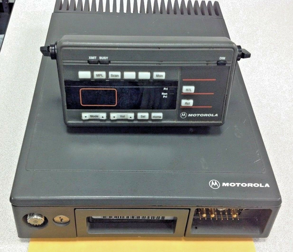 Motorola Maratrac Model # T73XTA7TA7BK, 150-174 MHz, 99 CH, Remote Control Head. Buy it now for 120.00