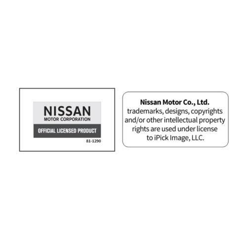 Nissan 350Z Z logo Chrome Finished Metal Piston Key Chain Keychain Key-ring