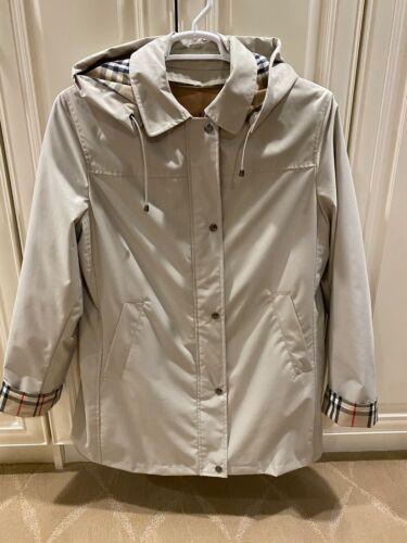 Burberry Kayla tan/khaki trench coat with removabl