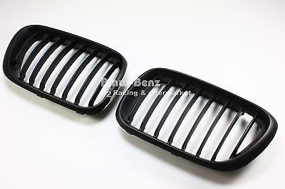 2000-2003 BMW E53 X5 Front Grille Grill Front Hood Bumper Kidney Grill - Black