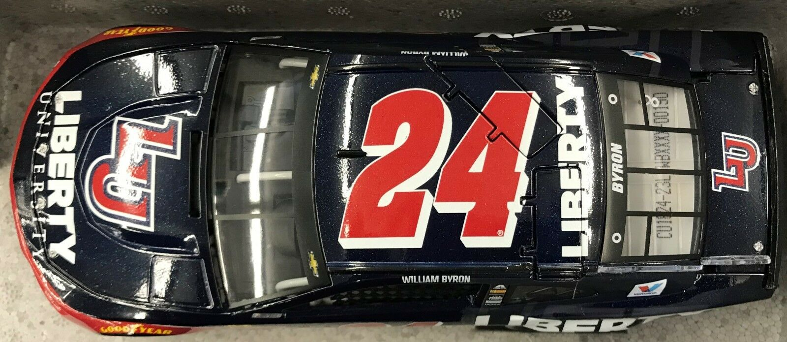 William Byron - 2018 1:24  24 Liberty University  1,441