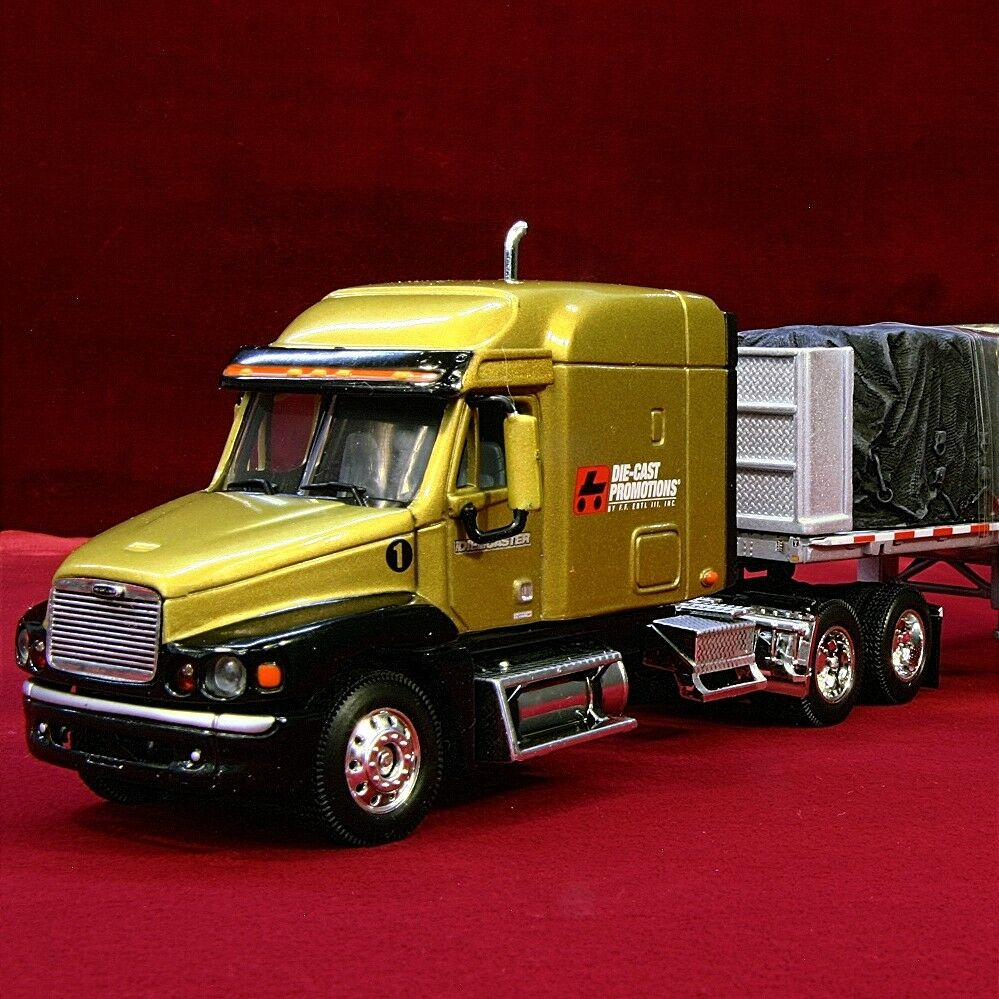 Hard To Find-diecaster Club-freightiner siècle tarped charge 30170 - 1 64 DCP nouveau
