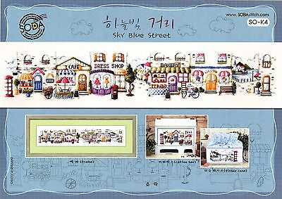 """Street"" Cross stitch pattern book. Big Chart. SODA SO-K4"
