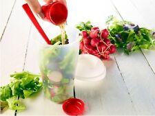 Salat-to-go-Becher mit Dressingbehälter & Gabel Salatbecher Salatbox unterwegs
