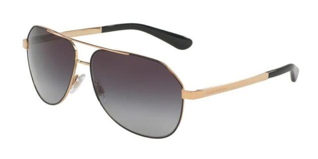5898f0f15b78 Dolce   Gabbana DG 2144 12968g Matte Black Sunglasses Grey Gradient 61mm