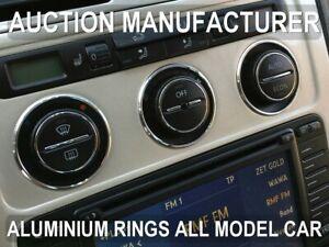VW-Touran-2003-2010-Anneaux-De-Ventilation-Chromes-Aluminium-3-pieces