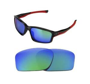 70caa0dd67 Image is loading NEW-POLARIZED-REPLACEMENT-GREEN-LENS-FOR-OAKLEY-CHAINLINK-