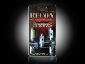 Recon-LED-Dome-Light-Kit-99-07-Chevy-Silverado-GMC-Sierra-Bulb-Replacement