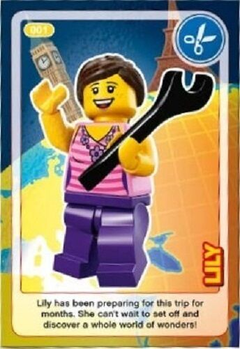 Sainsburys Lego Create The World Cards 2017 BUY 3 GET 10 FREE BUY 25 GET 80/% OFF