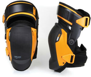 Knee-Pads-Thigh-Support-Stabilization-Professional-GEL-Construction-Jobsite-NEW