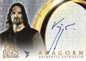 Lord-of-the-Rings-The-Two-Towers-Viggo-Mortensen-as-Aragorn-Auto-Card-LotR
