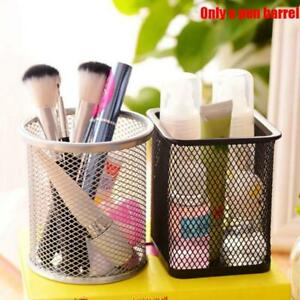 Cosmetic-Metal-Pen-Pencil-Pot-Holder-Stationery-Container-Organizer-Desk