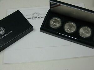 3-x-1-Dollar-Commemorative-Coins-1994-IN-Original-Case-Bu-Rarely