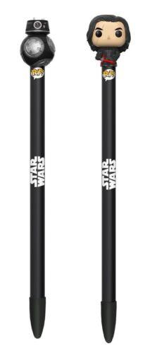 Star Wars The Last Jedi Episode 8 Kylo Ren /& BB-9E Pen with Topper FUNKO