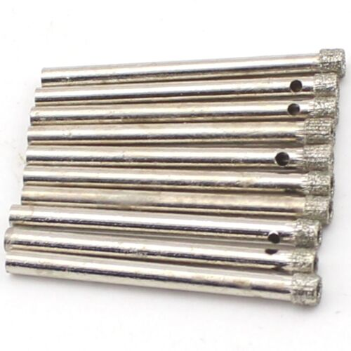 20Pcs 4 mm Diamond Coated Hole Saw Drill Bits Cutter Verre Céramique Marbre 5//32/""