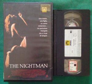 VHS-Film-Ita-Drammatico-THE-NIGHTMAN-jenny-robertson-ex-nolo-no-dvd-cd-lp-V108