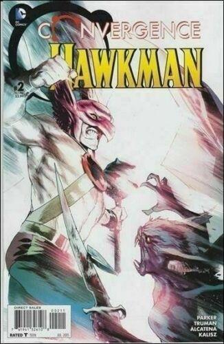 CONVERGENCE HAWKMAN #2 JULY 2015 DC NM COMIC BOOK 1