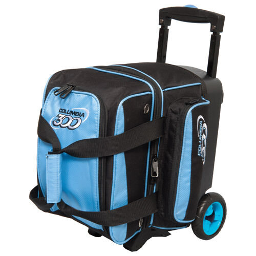 Columbia 300 Icon 1 Ball Roller Bowling Bag with Wheels bluee