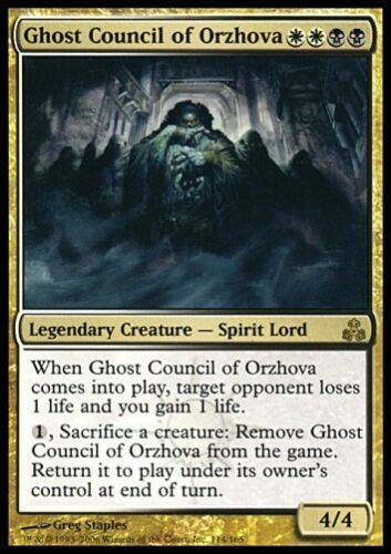 Top Rare ALLEMAND Presque comme neuf * MTG 1x Ghost council of Orzhova