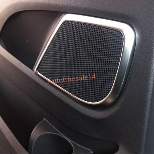 Silver Matt Door Speaker Cover Trim ABS 4PCS For Mercedes Vito W447 2014-2018