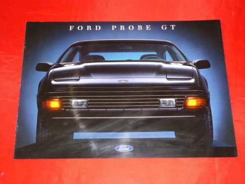FORD Probe GT Prospekt Brochure Depliant 1990