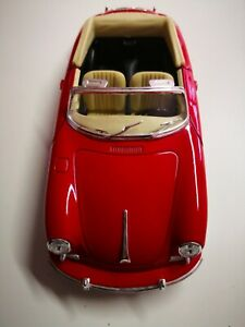 Porsche-356b-rojo-1-24-Model-29390-de-Welly-sin-usar-de-coleccion