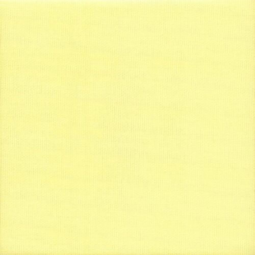 16 Count Zweigart Lemon Aida Cross Stitch Fabric size 49x54cms