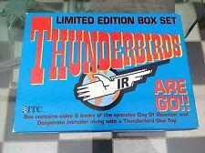 Original THUNDERBIRDS LIMITED EDITION BOX SET video libro Diecast MATCHBOX TB1