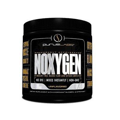 Purus Labs NOXYGEN Stimulant-Free Muscle Pumps Nitric Oxide 40 Servings EXP 7/17