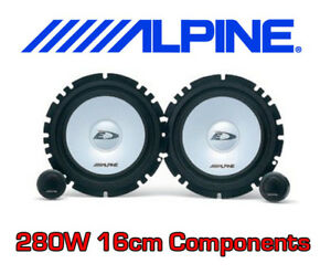 alpine 2 way sxe car component speakers tweeters ebay. Black Bedroom Furniture Sets. Home Design Ideas