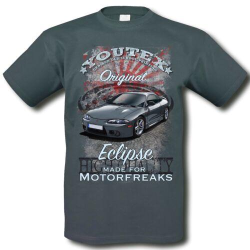 MITSUBISHI ECLIPSE VINTAGE T Shirt Long AUTO T-Shirt original YOUTEX