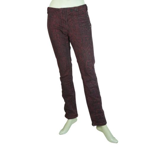 animale Scotch Pantaloni della stampa scozzesi stampa rosso serpente della del di cerniera della 29 Maison S0OAqwS
