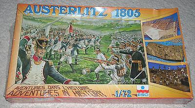 1/72 RARE ESCI Waterloo Austerlitz Battleset #50 MIB