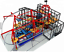 6-000-sqft-Commercial-Zip-Line-Roap-Course-Playground-Soft-Play-Zone-We-Finance miniatuur 1