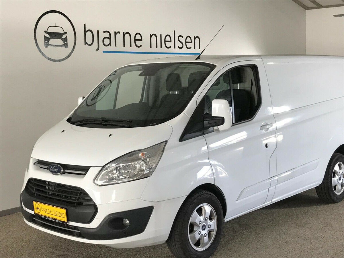 Ford Transit Custom 290L 2,0 TDCi 170 Limited aut.