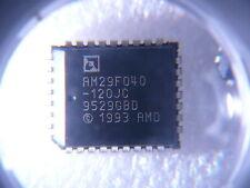 AMD AM29F040-120JC 29F040 4MBIT Flash EEPROM PLCC32 **NEW** Qty.5