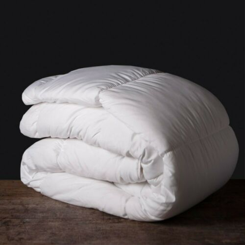 NEW DUCK FEATHER AND DOWN DUVET/&PILLOW 100/% COTTON COVER SUPREME QUALITY