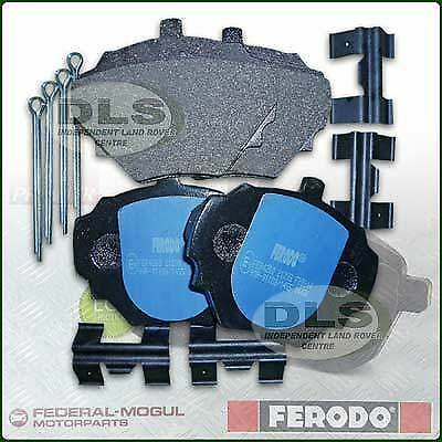 disc brake set of 4 Ferodo FDB1524 Brake Pad Set