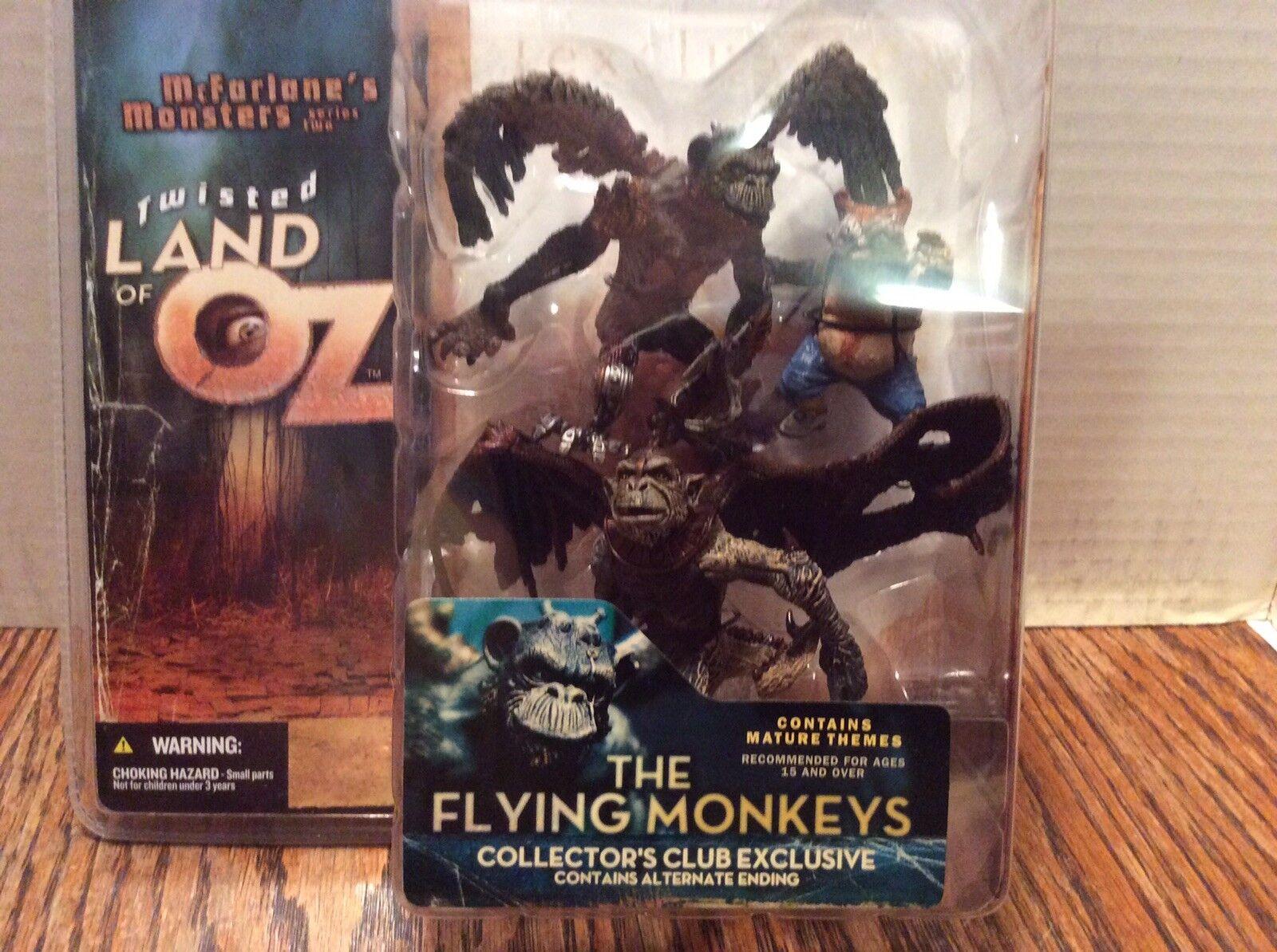 MCFARLANE TOYS les singes  volants et Munchkin Twisted land of Oz Action Figures  différentes tailles