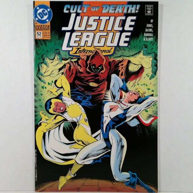 Justice League International 52 Jul 1993 Dc For Sale Online Ebay