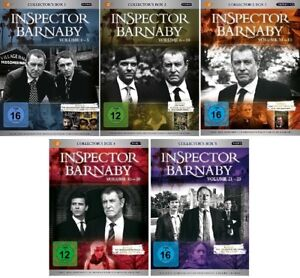 103-DVDs-INSPECTOR-BARNABY-COLLECTORS-BOX-1-5-VOL-1-25-IM-SET-NEU-OVP-amp