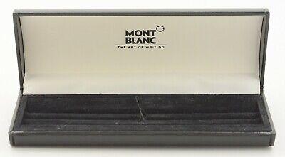 Aufrichtig Vintage Montblanc Schreibgeräte Verpackung Stift Box Leder Look Pen Case Writing Modische Und Attraktive Pakete